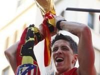 Fernando Torres con la Copa del Mundo