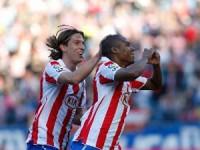 Atlético 4 - Levante 1 | Liga 2010/11