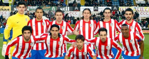 Alineación del Atlético vs Rácing 11/12