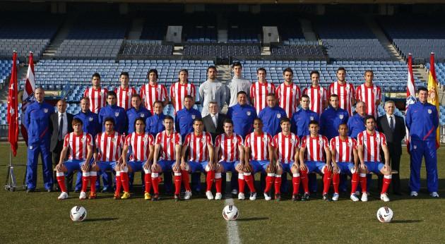 Foto oficial Atlético de Madrid 2011-12