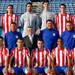Foto oficial del Atlético de Madrid 2011-12