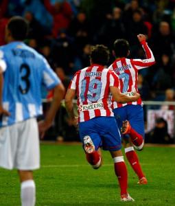 Goleadores jornada 37 frente al Málaga