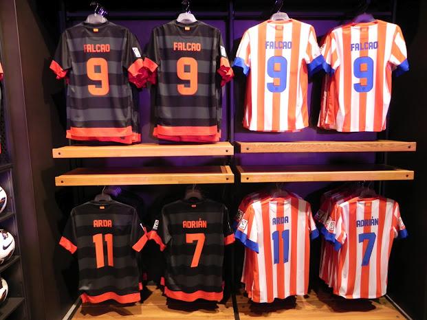 Atletico Madrid voetbalshirts 2012-2013