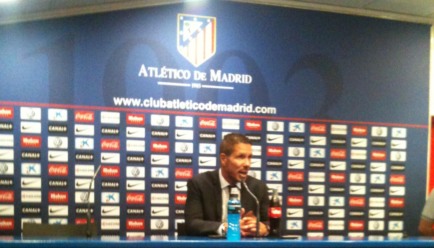Diego Pablo Simeone rueda de prensa ante Real Valladolid
