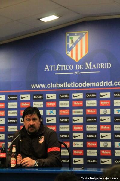 Germán Burgos en rueda de prensa
