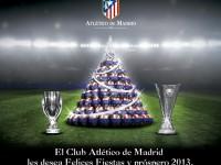 Mensaje del Atletico de Madrid Navidad 2012