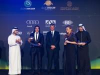 Premio Falcao globe soccer