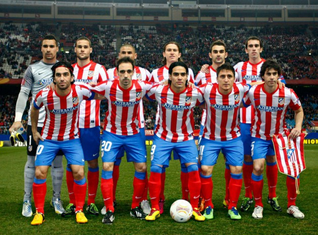 Once Atlético de Madrid vs Rubin Kazan