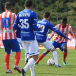 Ndoye, jugador del Atlético de Madrid B