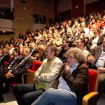 El auditorio, lleno