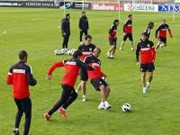 Entrenamiento del Atletico de Madrid