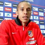 Miranda da conferencia de prensa. Atlético de Madrid