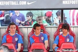 Sául, Manquillo y Óliver son el futuro y el presente del Atlético de Madrid.