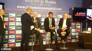 Luis Aragones con Cholo Simeone
