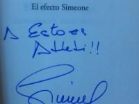 Autografo Esto es Atleti