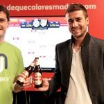 Casillas y Gabi. De qué color es Madrid