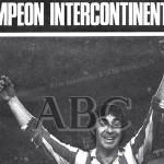 Gárate celebra la Copa Intercontinental
