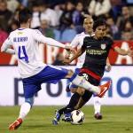 Óliver Torres contra el Zaragoza