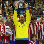 Atletico Madrid balonmano campeón Copa