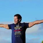 Simeone celebra Copa del Rey Neptuno