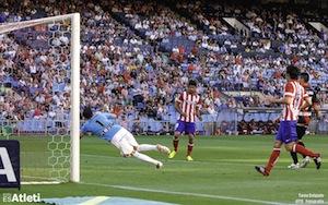 Diego Costa gol al Rayo