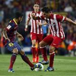 Koke contra el Barcelona