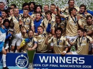 Zenit campeon UEFA