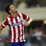 David Villa gol al Betis