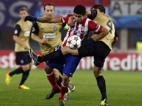 Diego Costa en el Atletico de Madrid