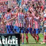 Celebración gol de Diego Costa al Celta