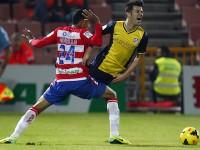 David Villa penalti Granada
