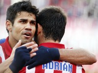 Diego Costa y Adrian Atletico de Madrid