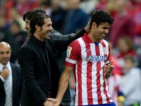 Simeone y Diego Costa