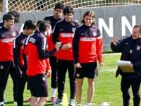 Profe Ortega entrenamiento Atlético de Madrid