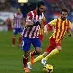 Arda Turan contra el Barcelona