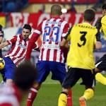 David Villa gol al Sevilla