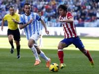 Oliver Torres contra el Malaga