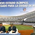 Cerezo y Gallardón nuevo estadio Atlético
