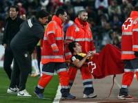 Tiago lesionado contra Almería