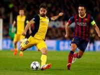 Diego Ribas gol al Barcelona
