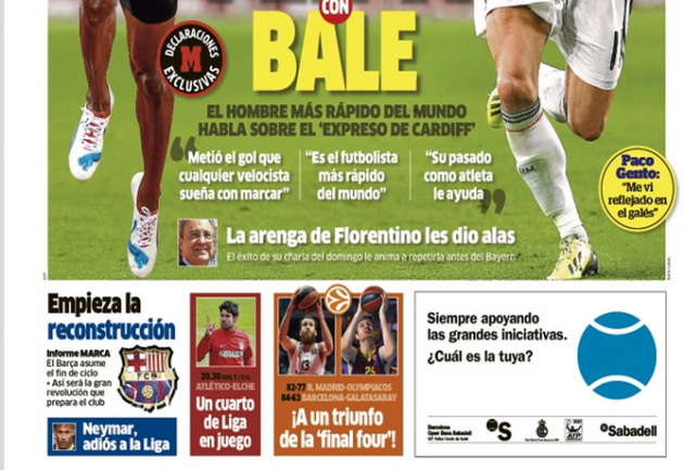 portada de Marca 18 de abril de 2014