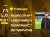 Simeone en la web de Doyen Sports