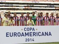 Atlético de Madrid en el Azteca