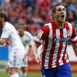 Koke, Atlético gol al Real Madrid