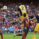 gol de Godín al FC Barcelona